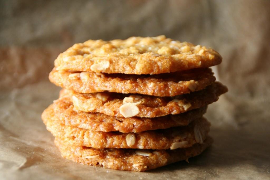 how to make thin crispy oatmeal cookies