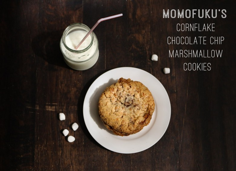 momofuku milk bar Cornflake Chocolate Chip Marshmallow Cookies | DalyShenanigans.com